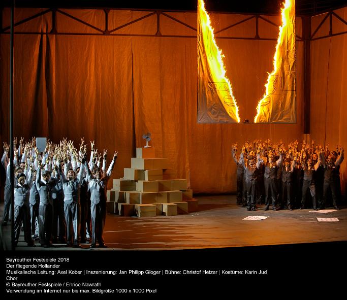 Fliegende Hollaender Bayreuther Festspiele 2018 - press photo _Enrico Nawrath