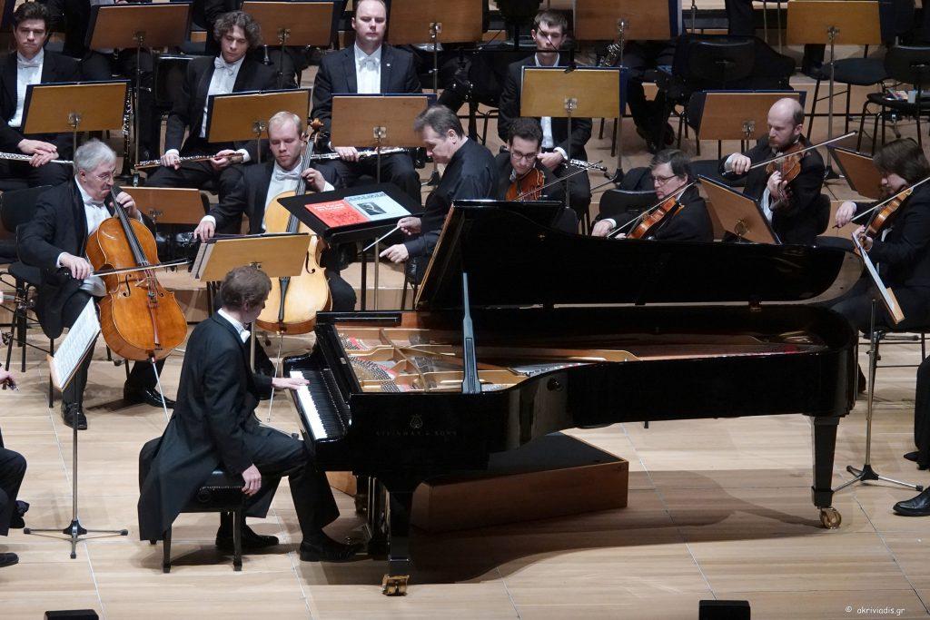 Εθνική Ορχήστρα της Ρωσίας. Νικολάι Λουγκάνσκι πιάνο. Μουσική διεύθυνση: Μιχαήλ Πλετνιόφ. Αίθουσα Χρήστος Λαμπράκης, 18 Νοεμβρίου 2018/20:30.