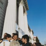Under the sun in front of Craiova University for Castellucci – 001
