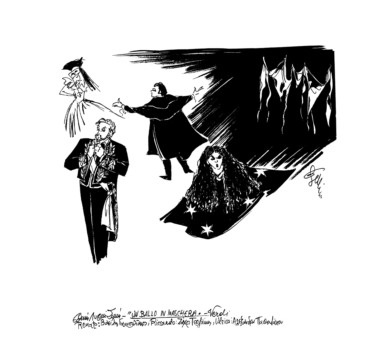 AIDA-του-G.-Verdi-Βασίλης-Γιαννουλάκος-ΕΛΣ-Ηρώδειο-1991-σχέδιο-Έλλης-Σολομωνίδου-Μπαλάνου