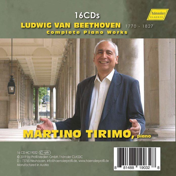 Martino Tirimo plays Beethoven